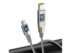 کابل دو سر تایپ سی به دی سی بیسوس Baseus Flash one for two Fast Charge Cable 100W 2m