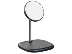 استند شارژر وایرلس بیسوس Baseus Swan Magnetic Desktop Bracket Wireless Charger