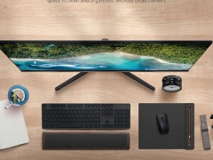 مانیتور 23.8 اینچ شیائومی Xiaomi Mi Desktop Monitor 1A RMMNT238NF 23.8 inch