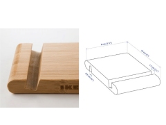 پایه نگهدارنده رومیزی گوشی مویایل و تبلت ایکیا IKEA 22516 Bamboo Holder for Mobile & Tablet