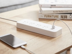 چند راهی برق و شارژر شیائومی Xiaomi Mijia Power Strip 4 Sockets & 3 USB