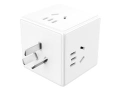 چند راهی مکعبی قابل اتصال به پریز میجیا شیائومی Xiaomi Mijia Magic Cube Socket Plug Multifunctional USB Charger