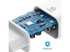 شارژر دیواری و کابل شارژ تایپ سی مک دودو Mcdodo CH-6721 Dual USB Travel Charger Set