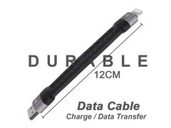 کابل شارژ لایتنینگ کوتاه باوین Bavin CB-192i Lightning Cable 12CM