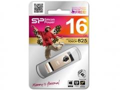 قیمت فلش مموری سیلیکون پاور Silicon Power Touch T825 16GB