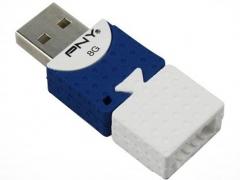 فلش مموری پی ان وای PNY Brick Attach 8GB