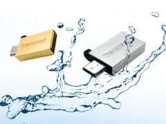 فلش مموری ترنسند Transcend 16GB JetFlash JF380G USB 2.0 OTG Flash Drive