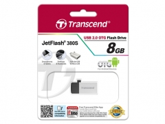 فلش مموری ترنسند Transcend 8GB JetFlash JF380S USB 2.0 OTG Flash Drive