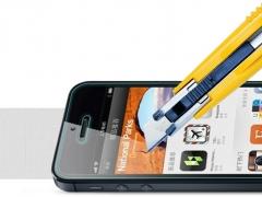 خرید اینترنتی محافظ صفحه نمایش شیشه ای iphone 5s مارک Nillkin