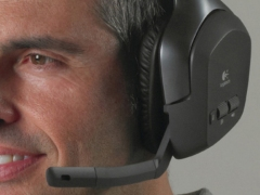 فروش هدست لاجیتک مدل Logitech Wireless F540