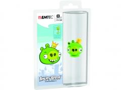 قیمت فلش مموری  Emtec Angry Birds Green 8GB