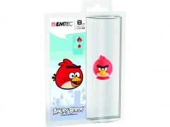 فلش مموری  Emtec Angry Birds Red 8GB