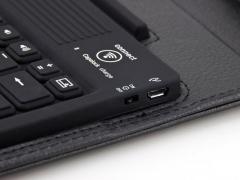 کیف چرمی کیبورد دار Samsung Galaxy Note 10.1 2014