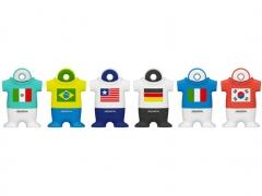 فروش عمده فلش مموری ای دیتا Adata T001 Soccer Jersey 8GB