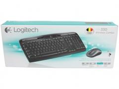خرید پستی ست موس و کیبورد لاجیتک Logitech Wireless MK330