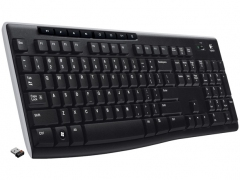 کیبورد لاجیتک Logitech Wireless K270