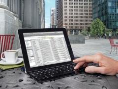 خرید کیبورد مخصوص آی پد Logitech Keyboard Ultrathin For iPad