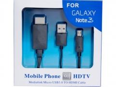خرید پستی کابل MHL برای Samsung Galaxy Note3