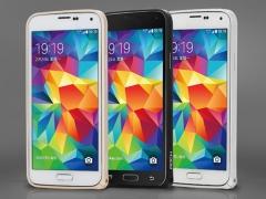 خرید عمده بامپر آلومینیومی Samsung Galaxy S5 مارک Rock