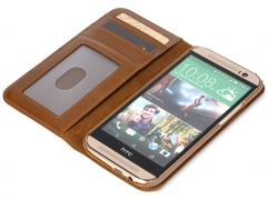 خرید اینترنتی کیف چرمی HTC One M8 مارک ROCK
