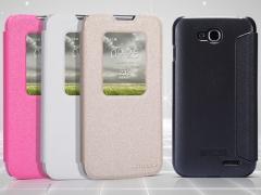 خرید عمده کیف چرمی مدل01 LG L90 مارک Nillkin