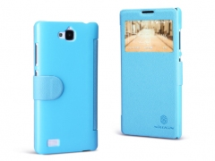 خرید آنلاین کیف چرمی Huawei Honor 3C مارک Nillkin