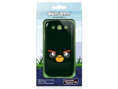 قاب محافظ گلکسی اس3 Angry Birds Black Bird