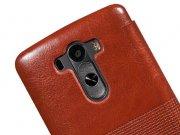فروش اینترنتی کیف چرمی LG G3 مارک Hoco