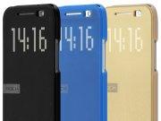 خرید عمده کیف هوشمند HTC One M8 مارک Rock