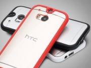 خرید عمده قاب محافظ شیشه ای HTC One M8 مارک Rock