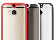 خرید آنلاین قاب محافظ شیشه ای HTC One M8 مارک Rock