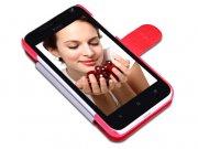 کیف چرمی HTC E1 603e مارک Nillkin