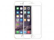 محافظ صفحه نمایش شیشه ای سفید Apple iphone 6