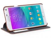 خرید آنلاین کیف چرمی Samsung Galaxy Note 4 مارک Hoco