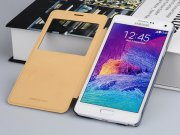کیف چرمی Samsung Galaxy Note 4 مدل01 مارک Baseus