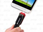 فلش مموری ترنسند Transcend 16GB JetFlash JF340 USB 2.0 OTG Flash Drive
