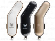 شارژر فندکی سریع بیسوس Baseus Smart-Thin Series Fashion Tiny Car Charger