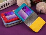خرید عمده کیف چرمی Samsung Galaxy Note 4 مارک Baseus مدل EDEN