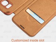 کیف چرمی نیلکین سامسونگ Nillkin Qin Leather Case Samsung Galaxy S6