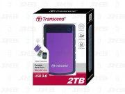 هارد اکسترنال ترنسند Transcend Storejet 25H3 USB 3.0 2TB
