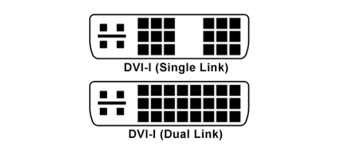 کابل دی وی آی-آی دوال لینک بافو BAFO DVI-I 24+5 Dual Link