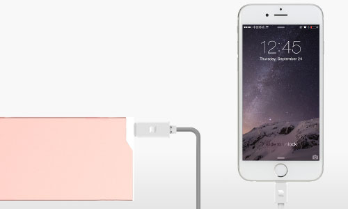 کابل تایپ سی راک Rock Space Type C To Lightning Cable