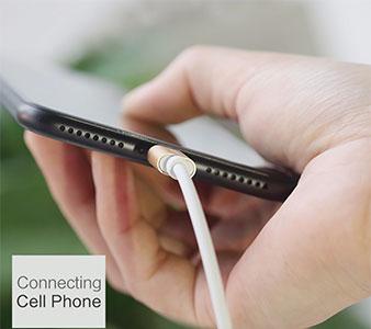 کابل صدا لایتنینگ Totu Design AUX Audio Cable