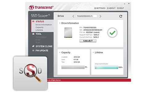 """هارد دیسک Transcend 2.5"""" 256GB SSD370s SATA Solid State Drive"""