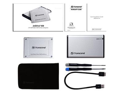 هارد دیسک مک ترنسند Transcend SATA III SSD JetDrive 420 240GB