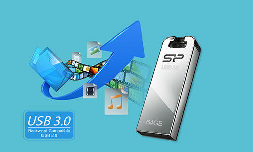 فلش مموری سیلیکون پاور Silicon Power Jewel J10 USB 3.0 Flash Memory 64GB