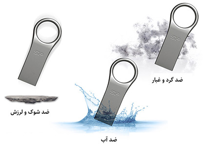 فلش مموری سیلیکون پاور Silicon Power Firma F80 USB Flash Memory 8GB