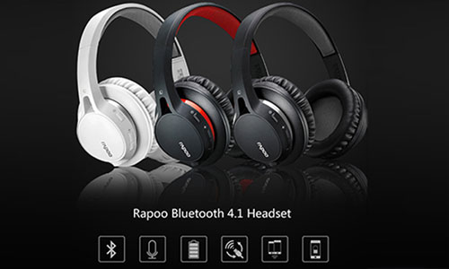 هدست بلوتوث رپو Rapoo S200 Bluetooth Headset