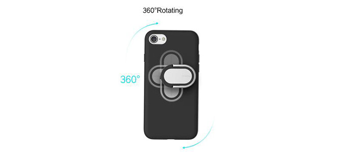 قاب محافظ راک آیفون Rock Ring Holder Case M1 iPhone 7 Plus