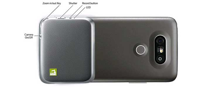 ماژول دوربین ال جی LG Cam Plus CBG-700 Module For LG G5